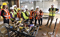 Construction Project Serves as Educational Resource