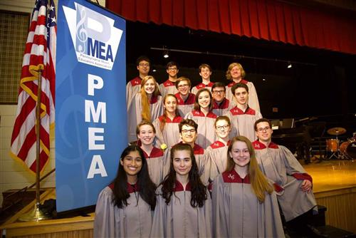 PA Music Educator's Association Region Choir Festival.