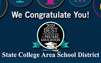 SCASD Named Best Communities for Music Education