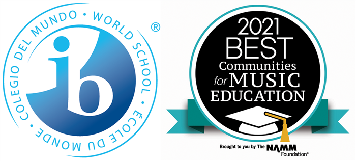 State High IB World School and NAMM Best Communities for Music Education