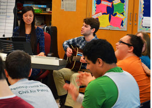 Penn State's Music Therapy Club provides service to community through music