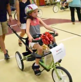 August 2016 - Special Needs Students Receive New Bikes