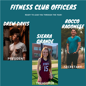 2020/21 Fitness Club Officers