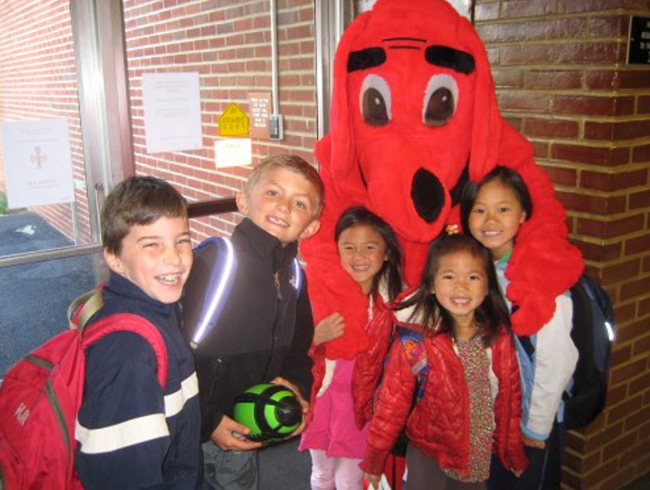clifford with kids