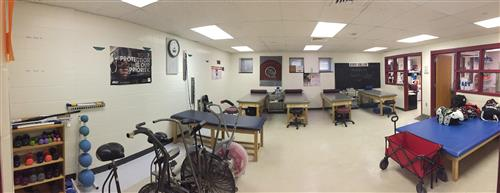State College Athletic Training Room