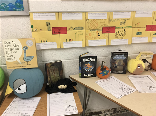 PUMPKIN BOOK REPORTS