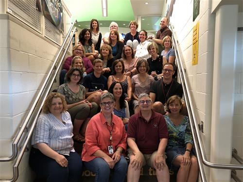 2018-19 Library Staff