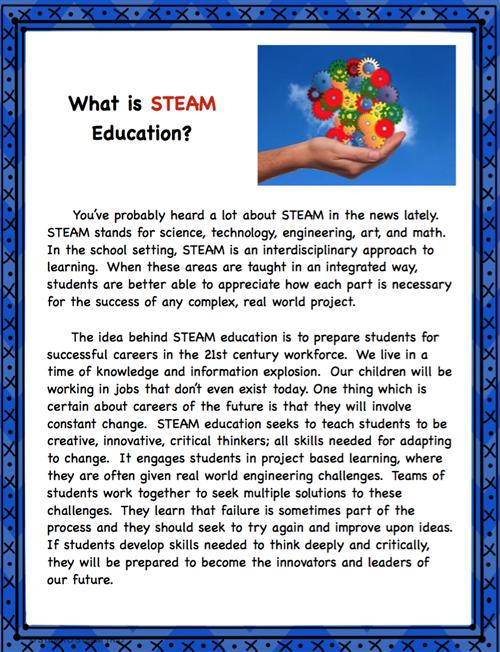 Jeffries, Jessica, STEAM / What is STEAM?