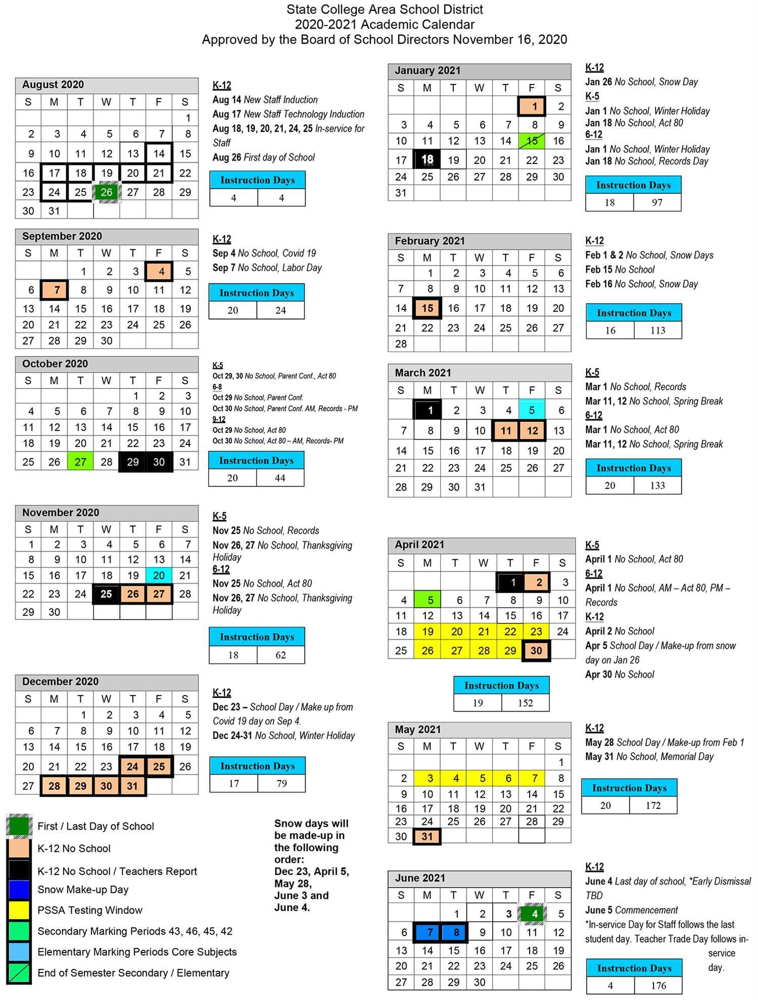 Rit Academic Calendar 2022 2023.2020 2021 Academic Calendar