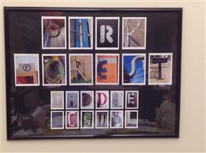 PFMS student art--framing funded by PTSO