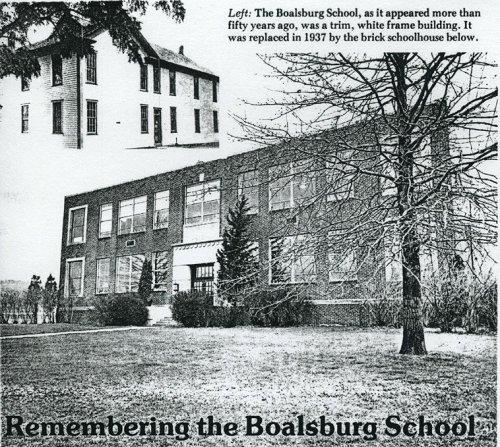 Boalsburg School Historical photos