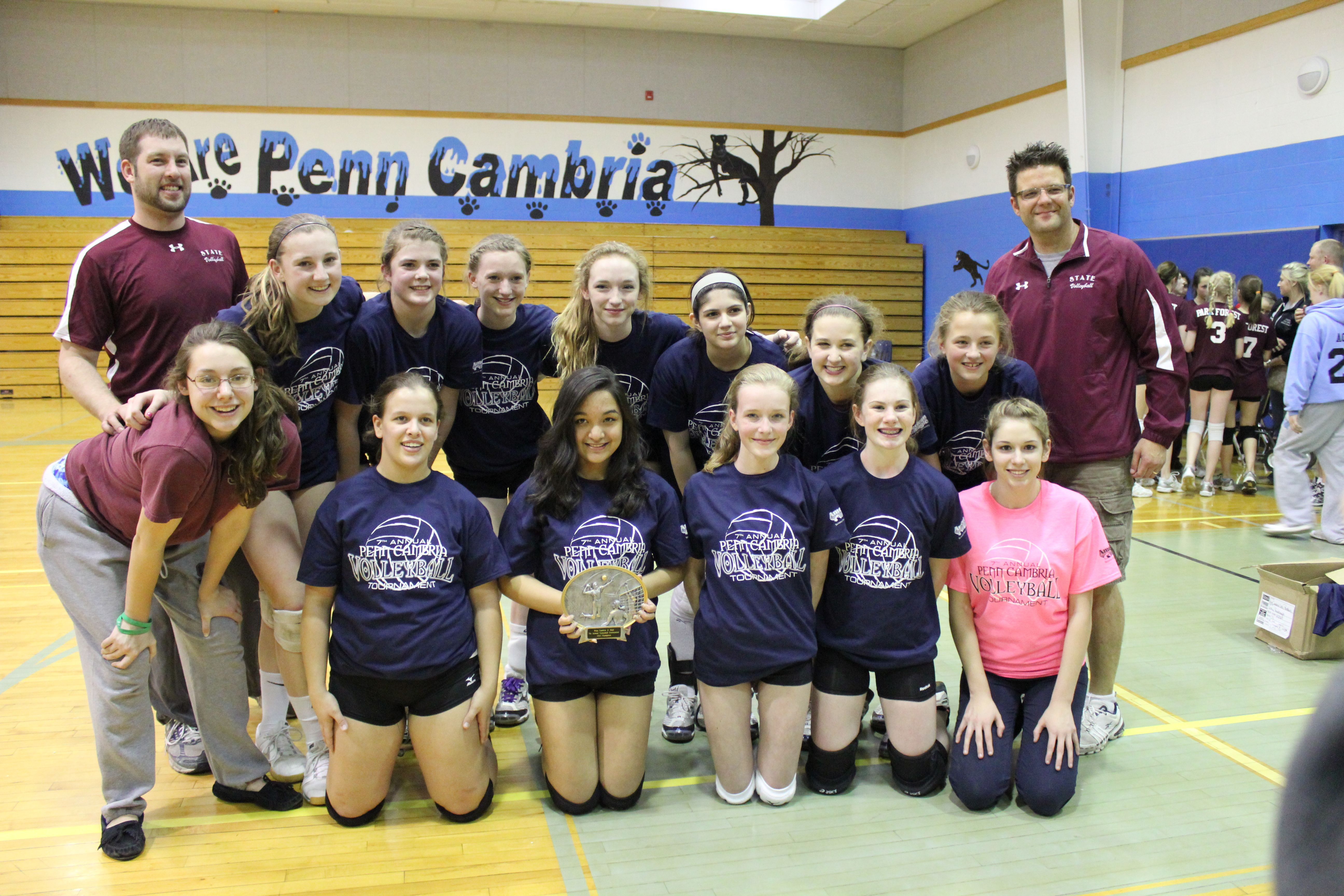 Mt Nittany Middle School Girls Volleyball