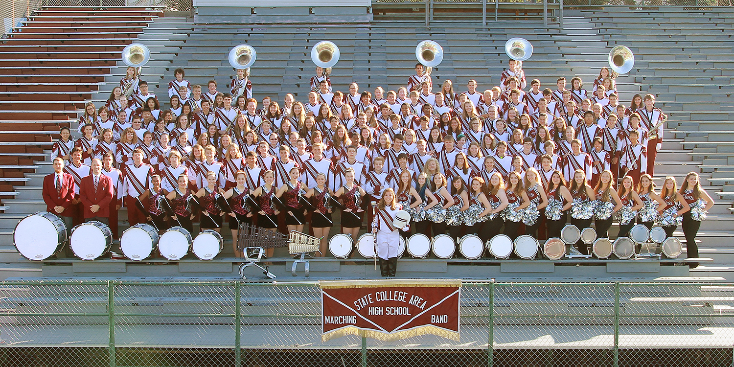 The 2015-16 State High Marching Band