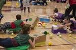 Students Play Hungry, Hungry Human Hippos