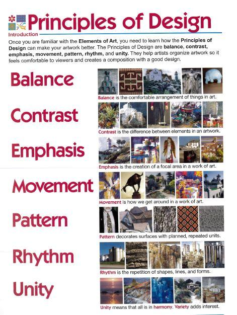 Art Elements And Principles List : Gazda molly art elements and principles definitions